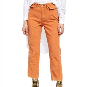 Free People Aces High Straight Leg Cord Pants